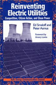 Reinventing electric utilities by Ed Smeloff