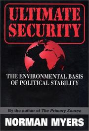 Cover of: Ultimate security