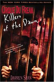 Cover of: Killers of the dawn | Darren Shan