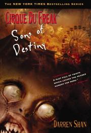 Cover of: Cirque Du Freak #12: Sons of Destiny: Book 12 in the Saga of Darren Shan