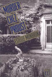 Cover of: Murder chez Proust | Estelle Monbrun