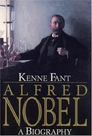 Cover of: Alfred Nobel