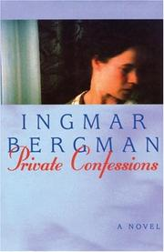 Cover of: Private Confessions