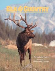 Cover of: Elk Country (Wildlife Country)