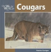 Cover of: Cougars (Our Wild World)