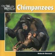 Cover of: Chimpanzees (Our Wild World)