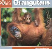 Cover of: Orangutans (Our Wild World)