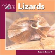 Cover of: Lizards (Our Wild World)
