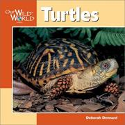 Cover of: Turtles (Our Wild World)