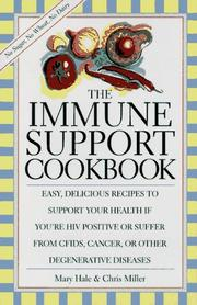 Cover of: The immune support cookbook
