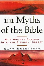 Cover of: 101 myths of the Bible