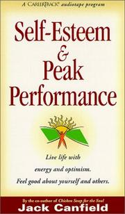 Cover of: Self-esteem & Peak Performance