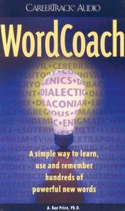 Cover of: Word Coach |