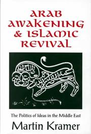 Cover of: Arab awakening and Islamic revival