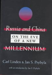Cover of: Russia and China on the Eve of a New Millennium | Jan Prybyla