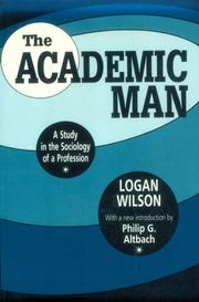 Cover of: The academic man