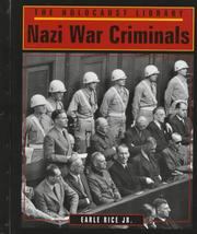 Cover of: Nazi war criminals