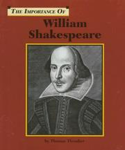 Cover of: The Importance Of Series - William Shakespeare