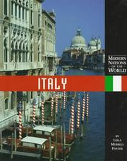 Cover of: Modern Nations of the World - Italy (Modern Nations of the World)