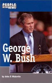 Cover of: George W. Bush: People In The News
