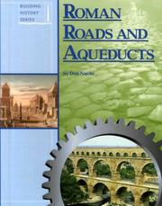 Cover of: Building History - Roman Roads and Aqueducts (Building History)