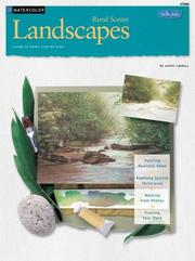 Cover of: Landscapes in watercolor