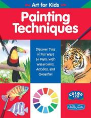 Cover of: Painting Techniques (Art for Kids)