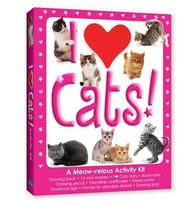 Cover of: I Love Cats (Walter Foster Drawing Kits)