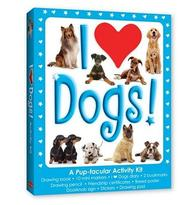 Cover of: I Love Dogs (Walter Foster Drawing Kits)
