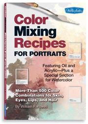 Cover of: Color Mixing Recipes for Portraits