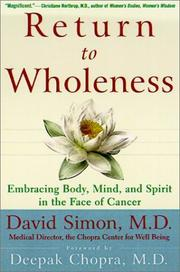 Cover of: Return to Wholeness