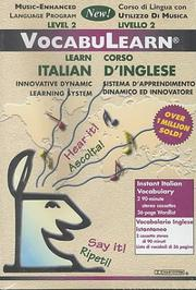 Cover of: Italian/English: Level 2: VocabuLearn: Music-Enhanced: |
