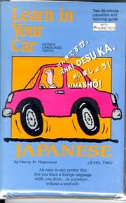 Cover of: Japanese: Level 2