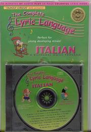 Cover of: Italian (The Complete Lyric Language)