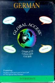 Cover of: Global Access: German