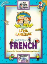 Cover of: Lyric Language French Series 1