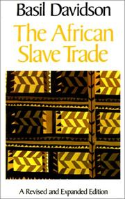 Cover of: The African slave trade