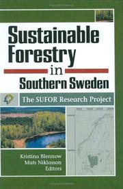 Cover of: Sustainable Forestry in Southern Sweden |