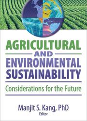 Cover of: Agricultural and Environmental Sustainability