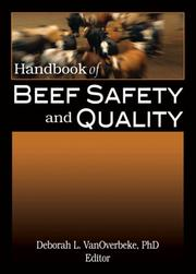 Cover of: Handbook of Beef Safety and Quality