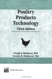 Poultry products technology by George J. Mountney