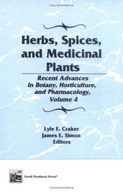 Cover of: Herbs, Spices, and Medicinal Plants