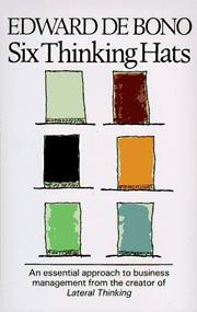 Cover of: Six thinking hats