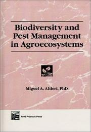 Cover of: Biodiversity and pest management in agroecosystems by