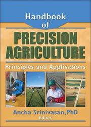 Cover of: Handbook of Precision Agriculture