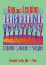 Cover of: Gay and Lesbian Rights Organizing