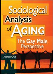 Cover of: Sociological Analysis of Aging