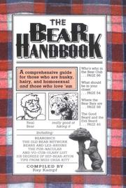 Cover of: The Bear Handbook
