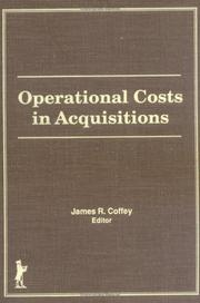 Cover of: Operational Costs in Acquisitions (Acquisitions Librarian Series, No 4) (Acquisitions Librarian Series, No 4)