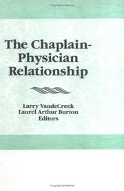 The Chaplain-physician relationship by
